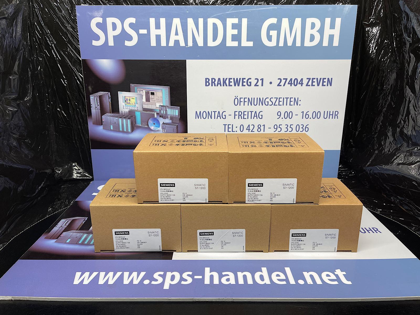 6ES7215-1AG40-0XB0    CPU 1215C    Siegel 33%