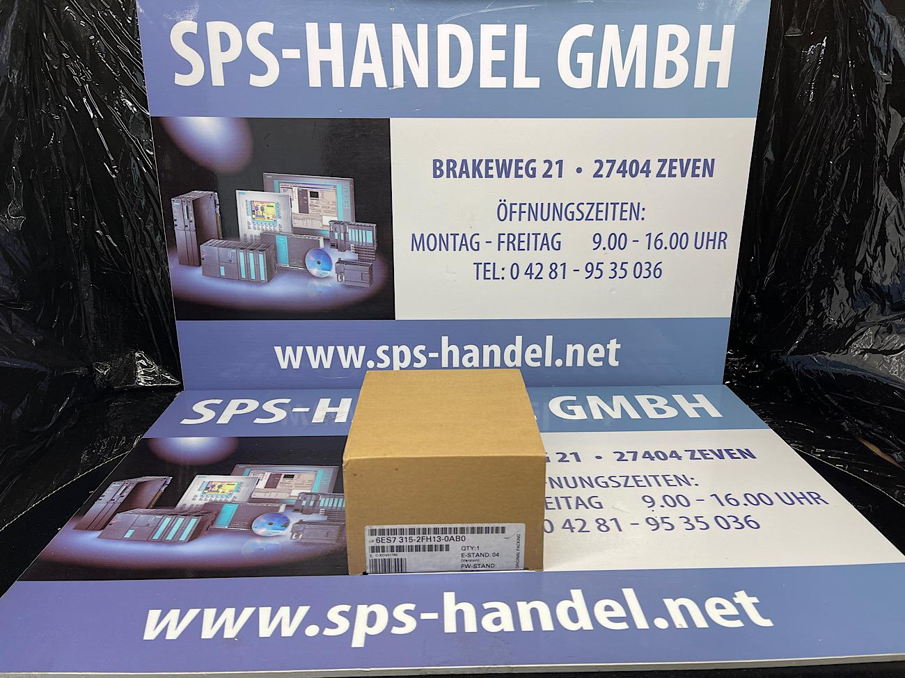 6ES7315-2FH13-0AB0   CPU315F-2 PN/DP   Neu Siegel  40%