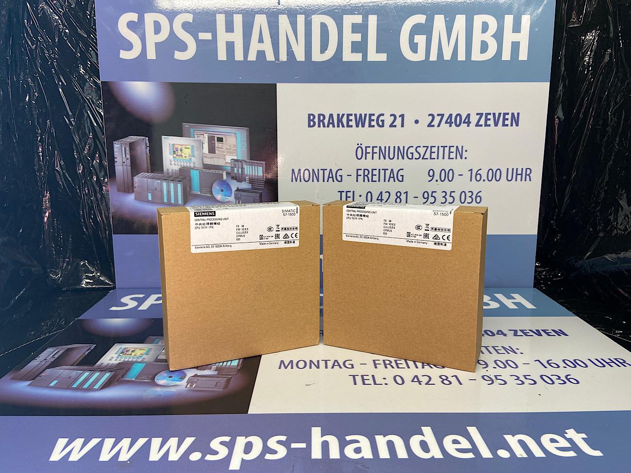 6ES7511-1FK02-0AB0   CPU1511F-1PN   NEU Siegel 26%