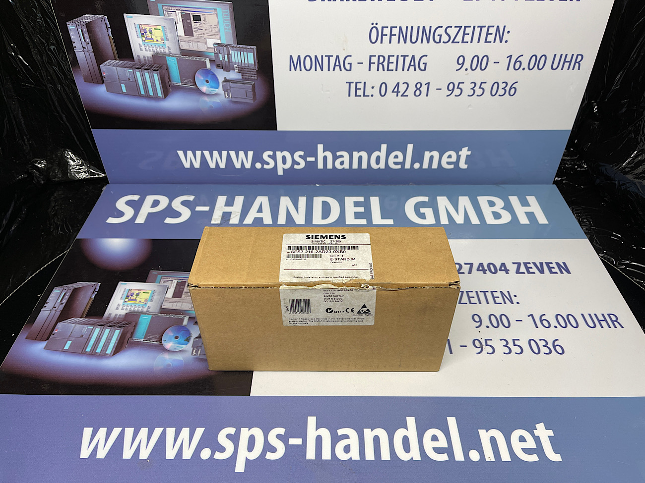 6ES7216-2AD23-0XB0 | CPU 226 | NEU Siegel offen  40%