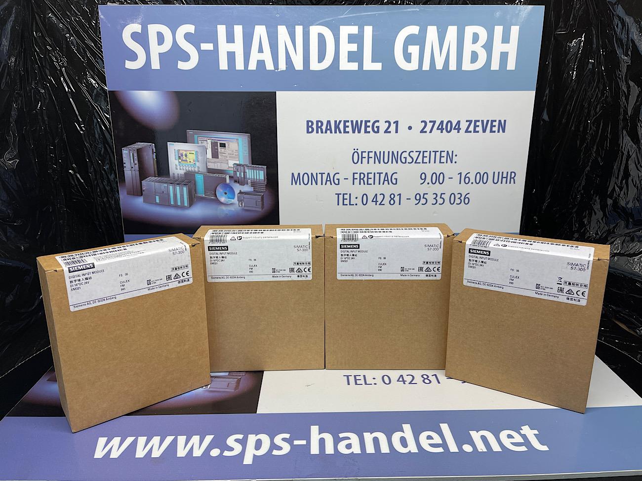 6ES7321-1BH02-0AA0   SM321 16DE*   Neu versiegelt (30%)