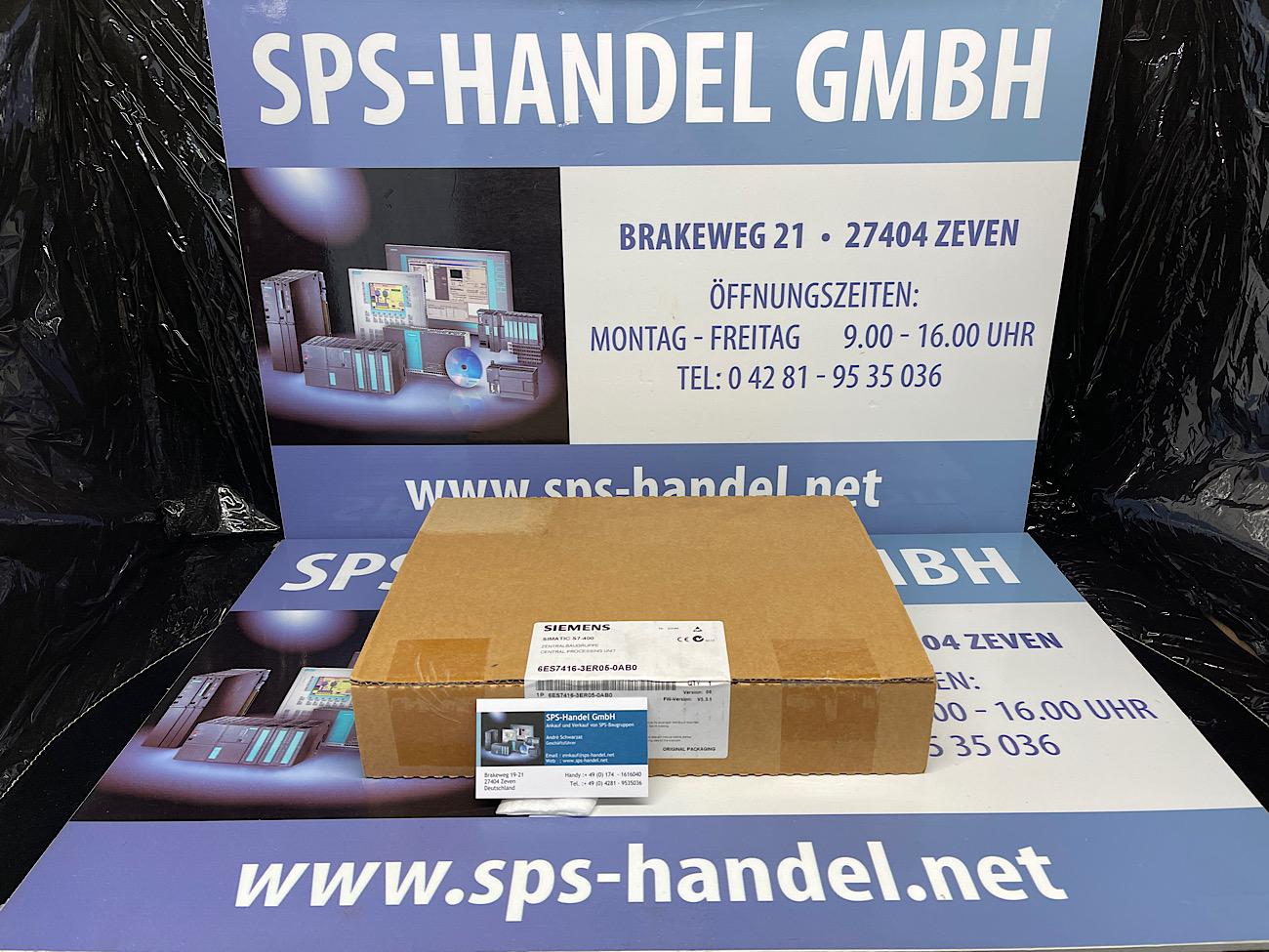 6ES7416-3ER05-0AB0 | CPU 416-3 PN/DP | NEU Siegel