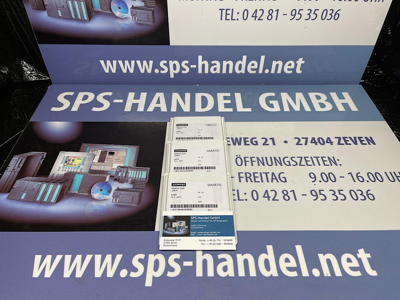 6ES7954-8LL03-0AA0 | MMC für S7-1x 00 CPU | NEU Siegel 30%