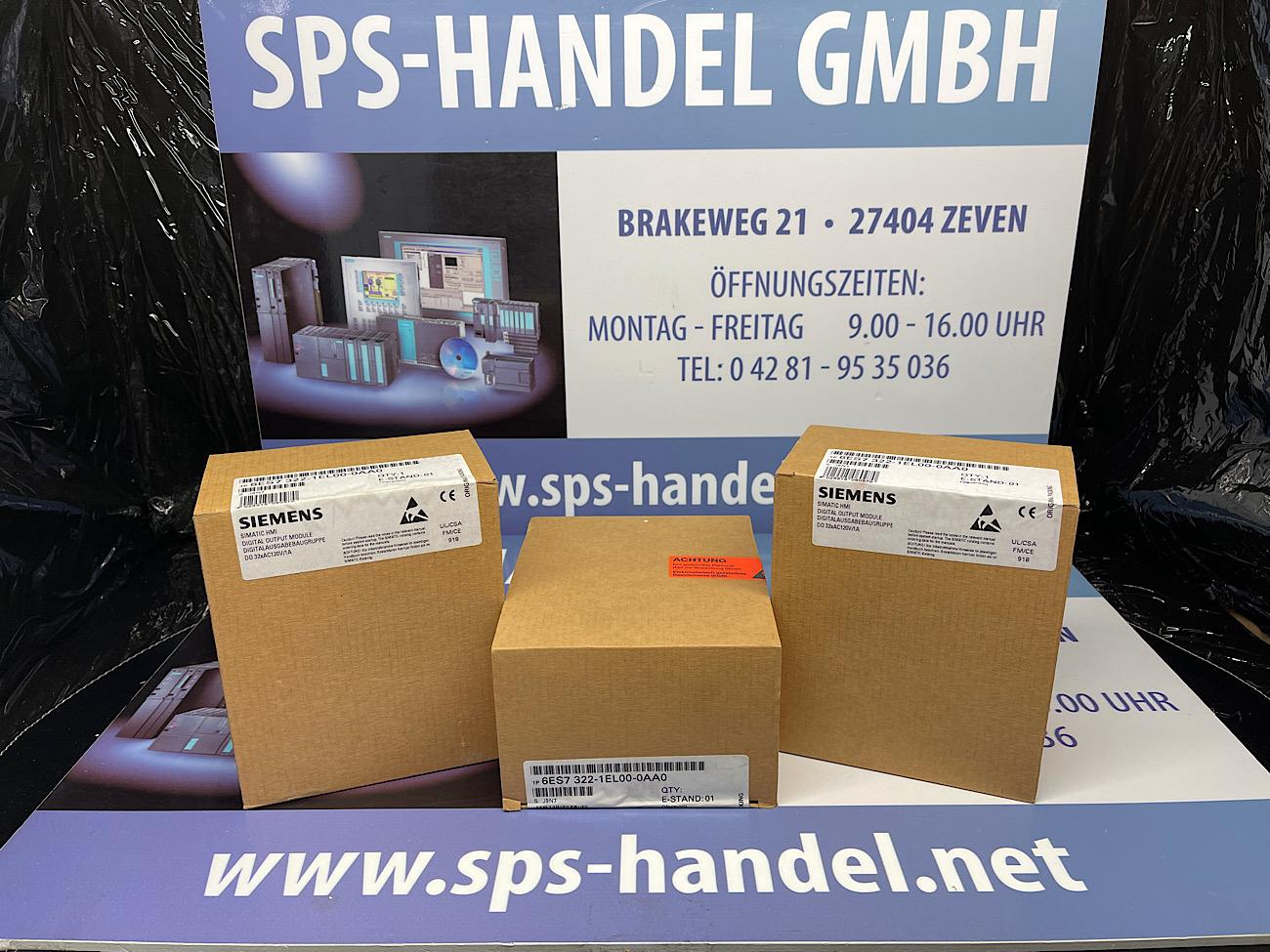 6ES7322-1EL00-0AA0   SM322 120V/230V   NEU versiegelt 40%