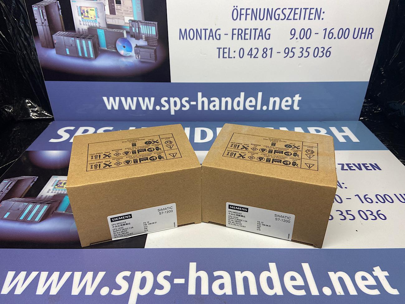6ES7215-1HG40-0XB0   CPU1215C   Siegel 33%