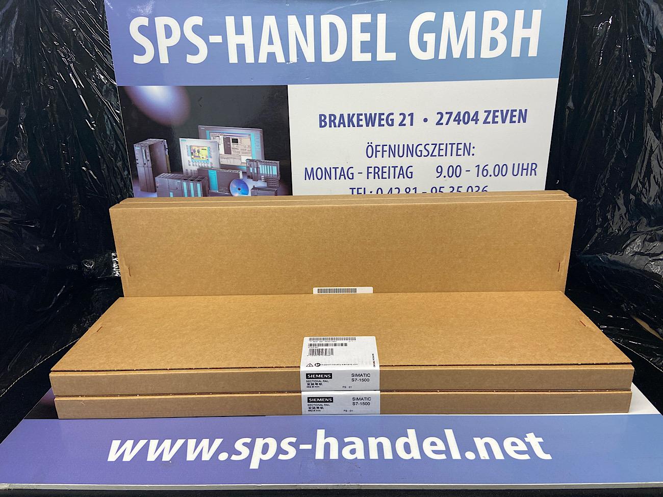 6ES7590-1AE80-0AA0   Profilschiene 482,60mm   NEU Siegel (26%)