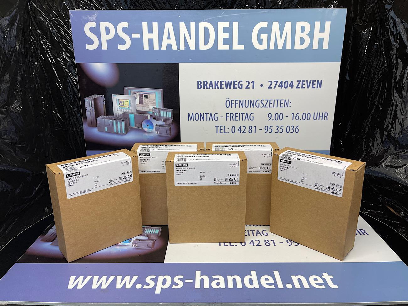 6ES7332-5HD01-0AB0   SM332   4AA   NEU versiegelt (30%)