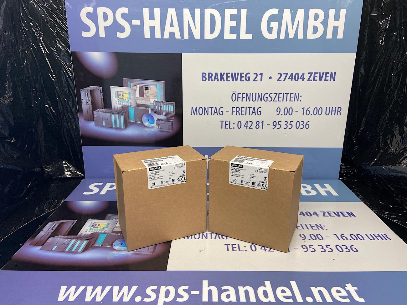 6ES7512-1DK01-0AB0   CPU 1512SP-1 PN   NEU Siegel 26%