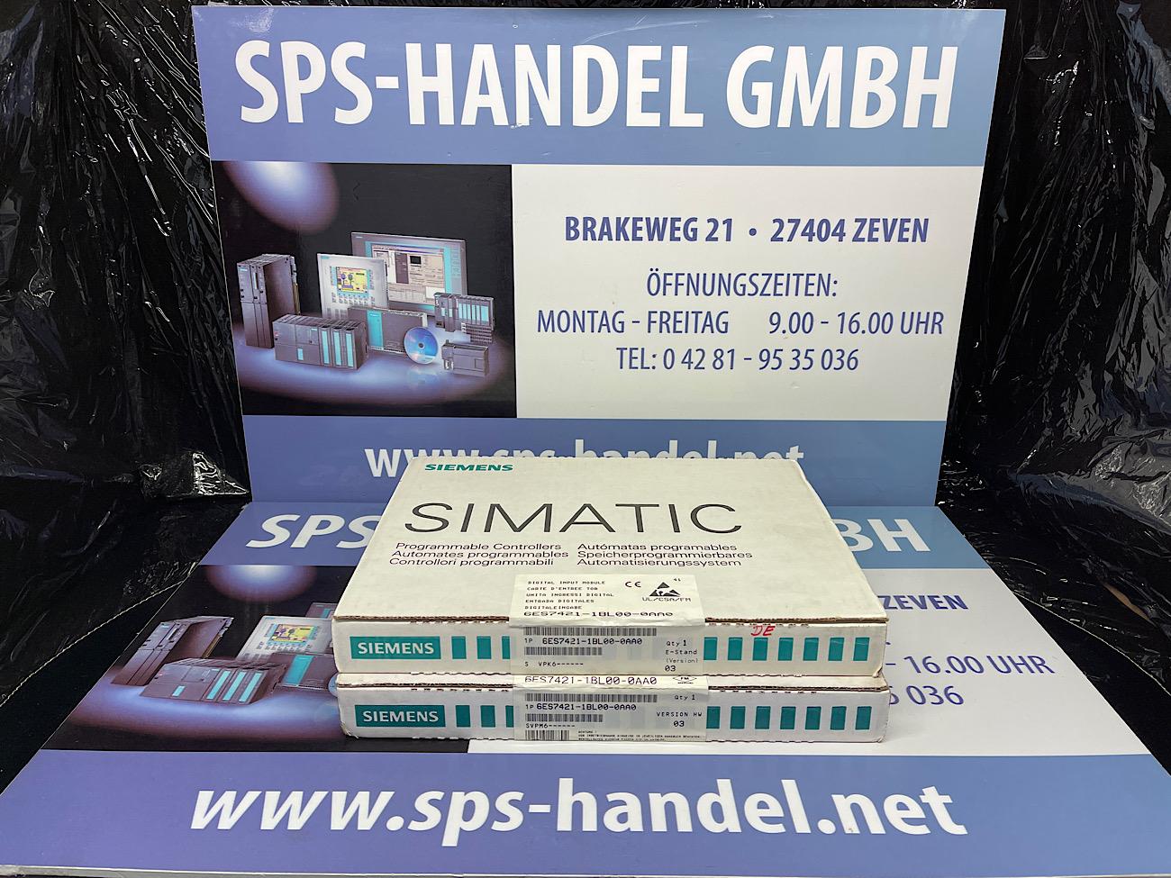 6ES7421-1BL00-0AA0 | SM 421 | 32 DE | Neu Siegel