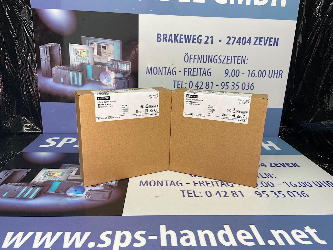 6ES7522-1BL01-0AB0   S7-1500 DO32   Neu Siegel 26%