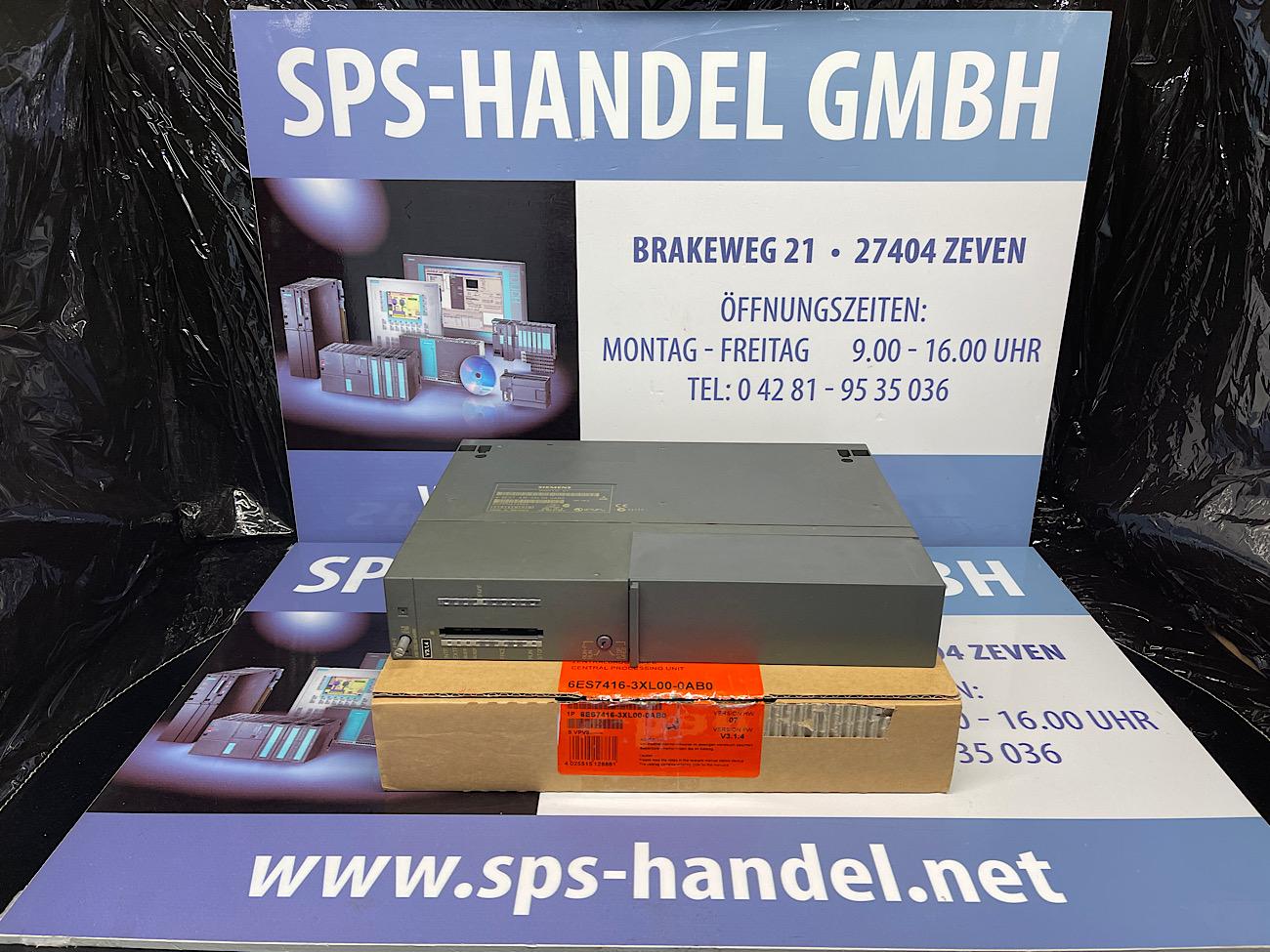 6ES7416-3XL00-0AB0 | CPU 416-3 | rot Siegel offen