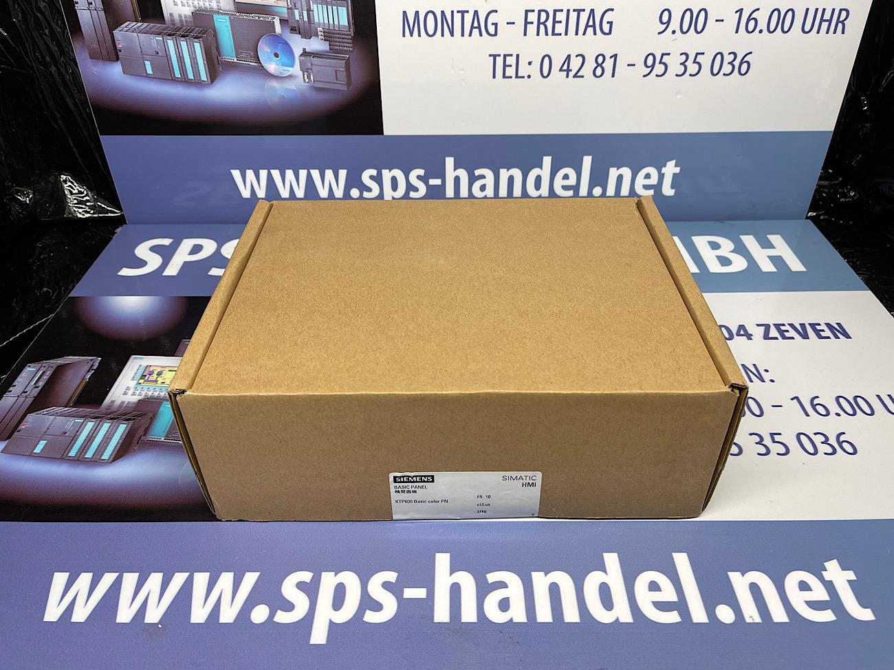 6AV6647-0AD11-3AX0 | KTP600 | Neu Siegel