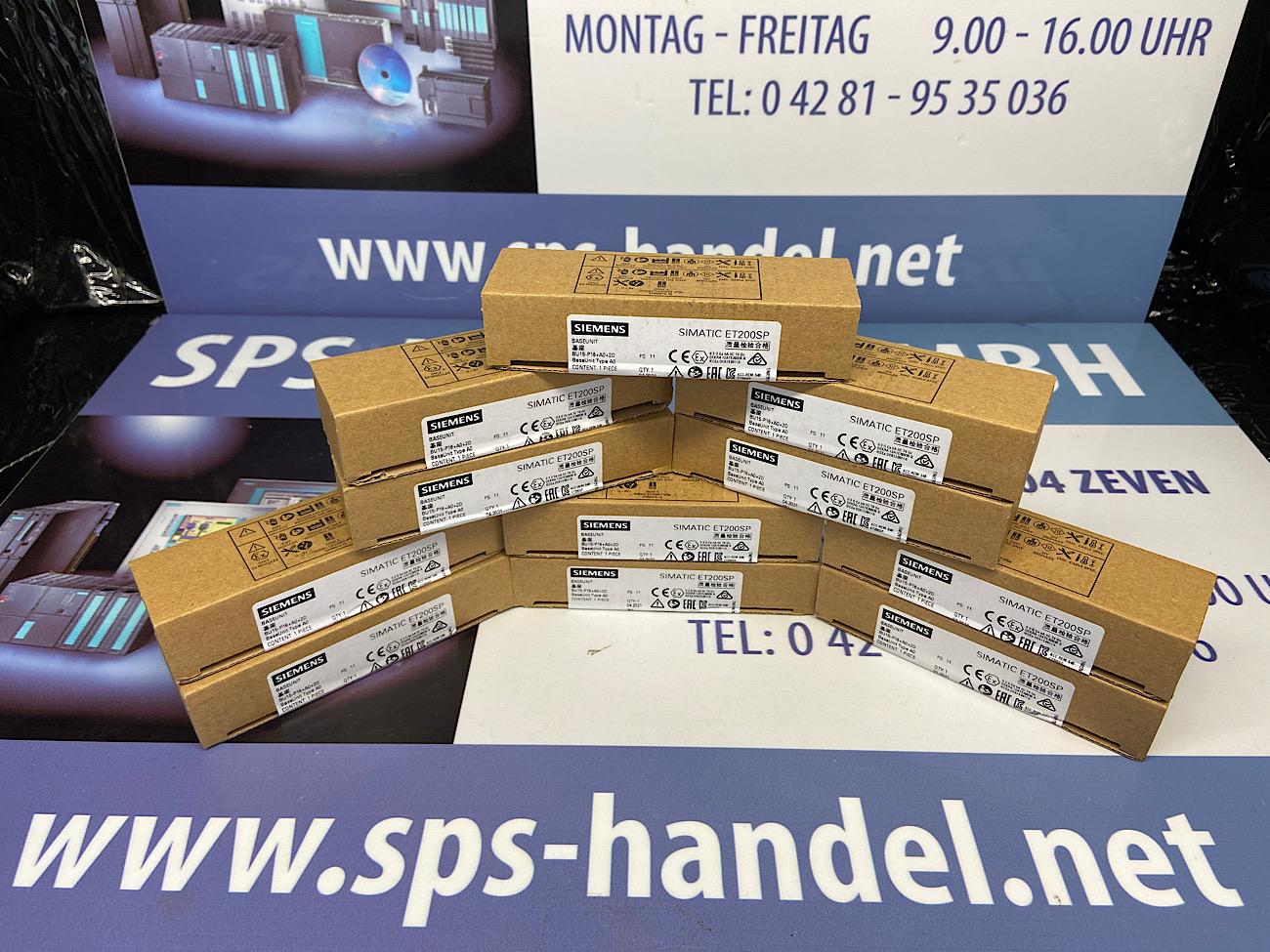 6ES7193-6BP00-0DA0 | ET 200SP | Neu Siegel 30%
