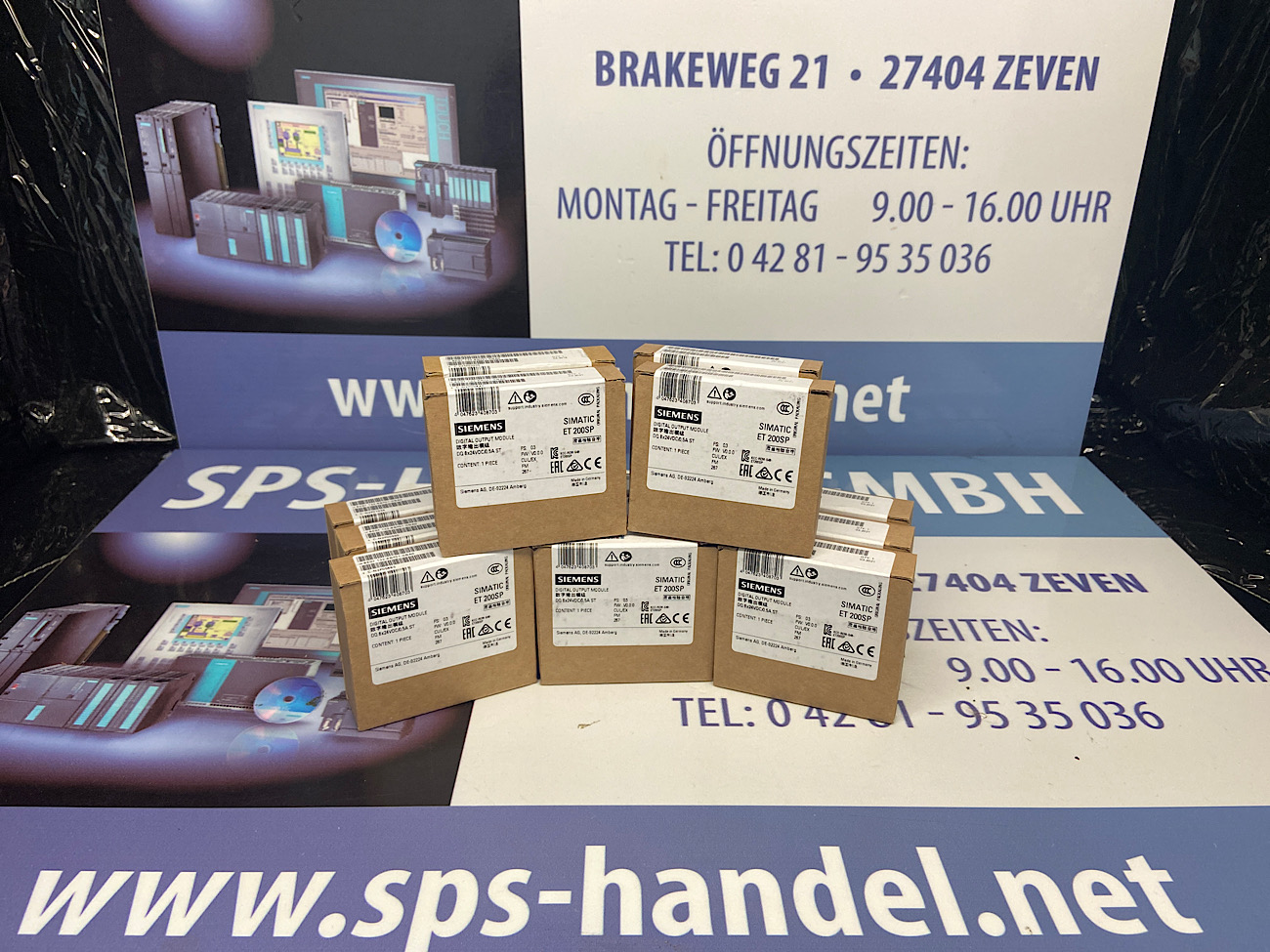 6ES7132-6BF01-0BA0 | ET 200SP |  NEU Siegel (30%)