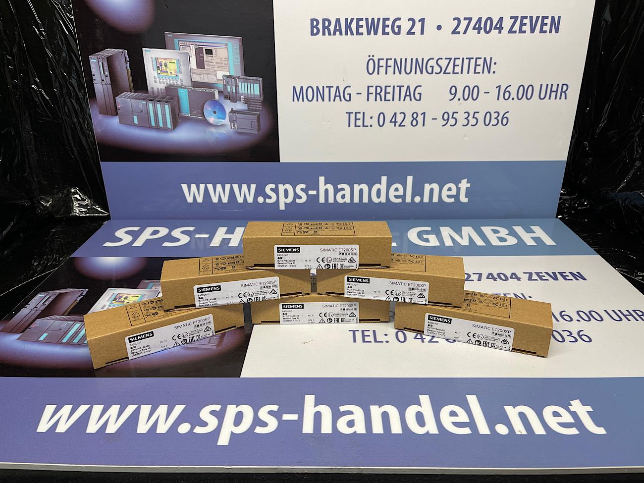 6ES7193-6BP00-0BA0 | ET 200SP | Neu Siegel 30%