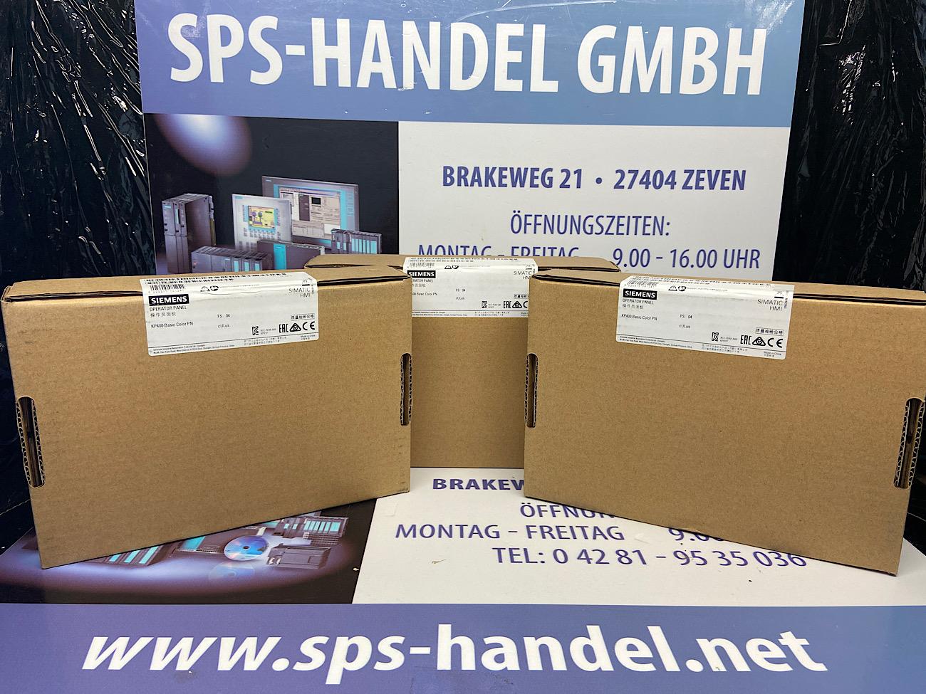 6AV6647-0AJ11-3AX0 | HMI KP400 Basic Color PN | Neu Siegel 30%