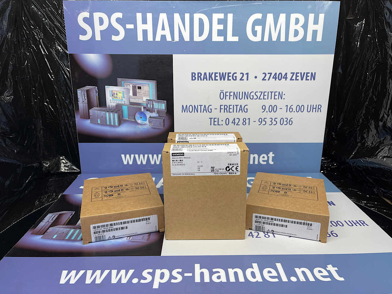 6ES7331-7SF00-0AB0   AI*8TC   SM331   Neu Siegel (40%)
