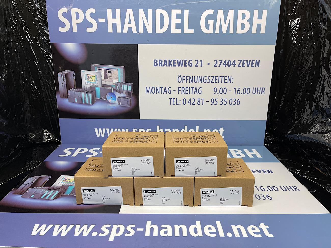 6ES7221-1BF32-0XB0 | SM 1221 | NEU Siegel 30%