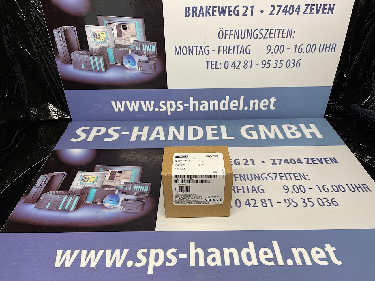 6ES7232-0HD22-0XA0 | EM 232 | NEU Siegel 30%