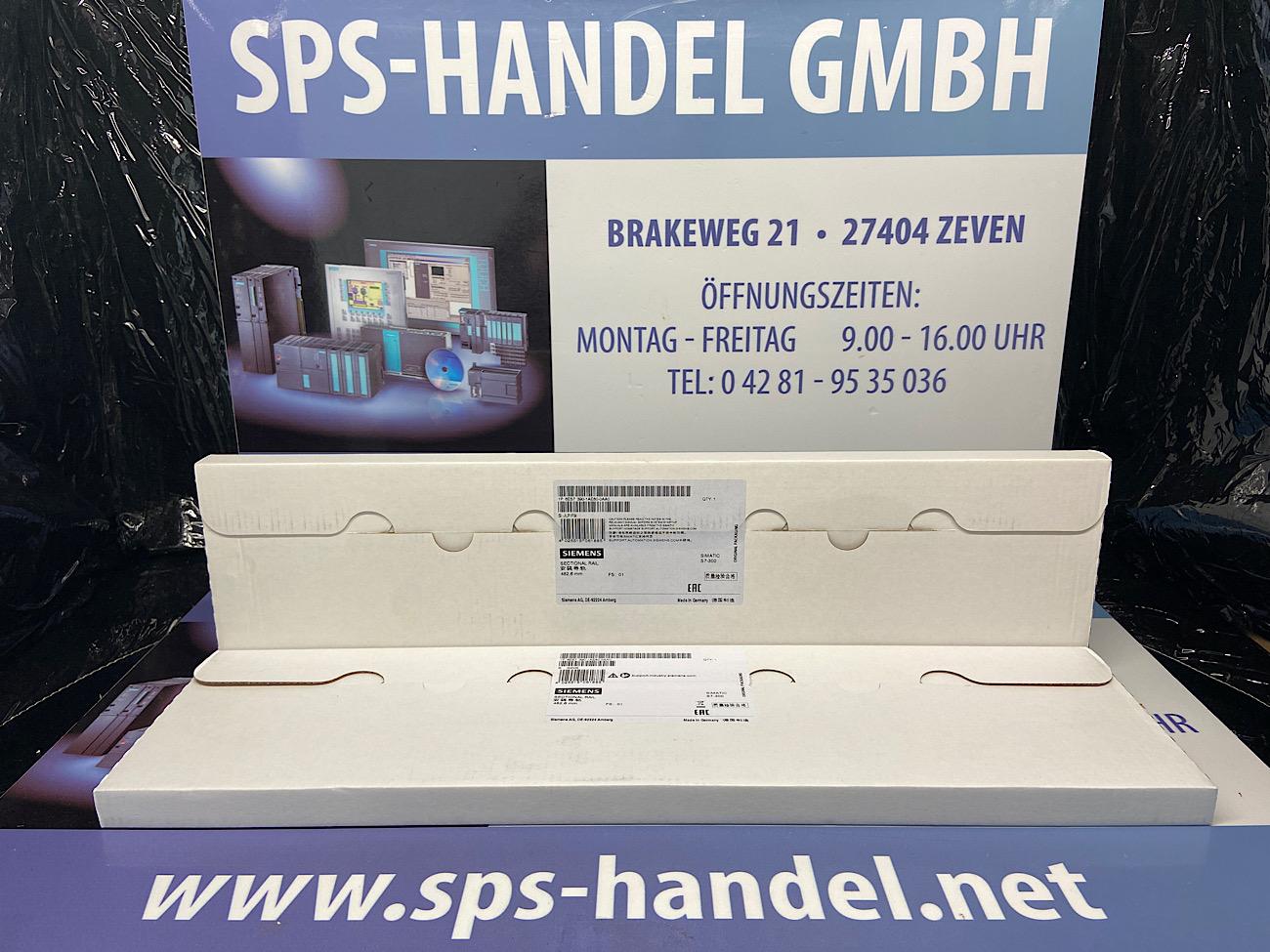 6ES7390-1AE80-0AA0   Profilschiene 482,6mm   NEU Siegel (30%)
