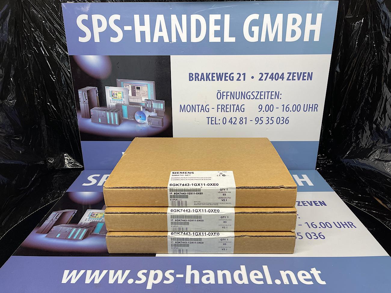 6GK7443-1GX11-0XE0 | CP443-1 IT | NEU Siegel 30%