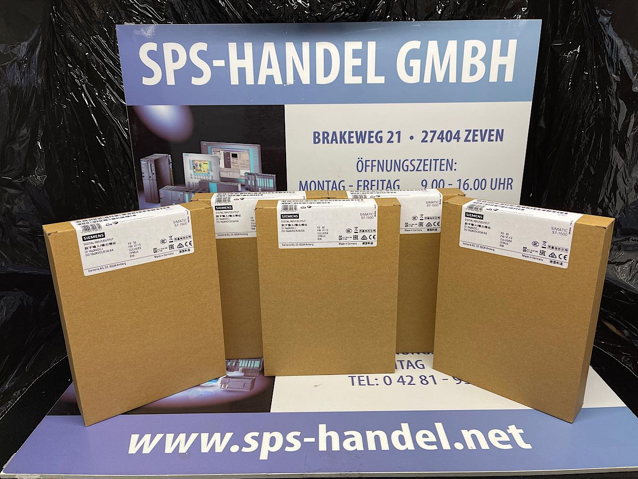 6ES7523-1BL00-0AA0   S7-1500 DI16/DO16   Neu Siegel 26%