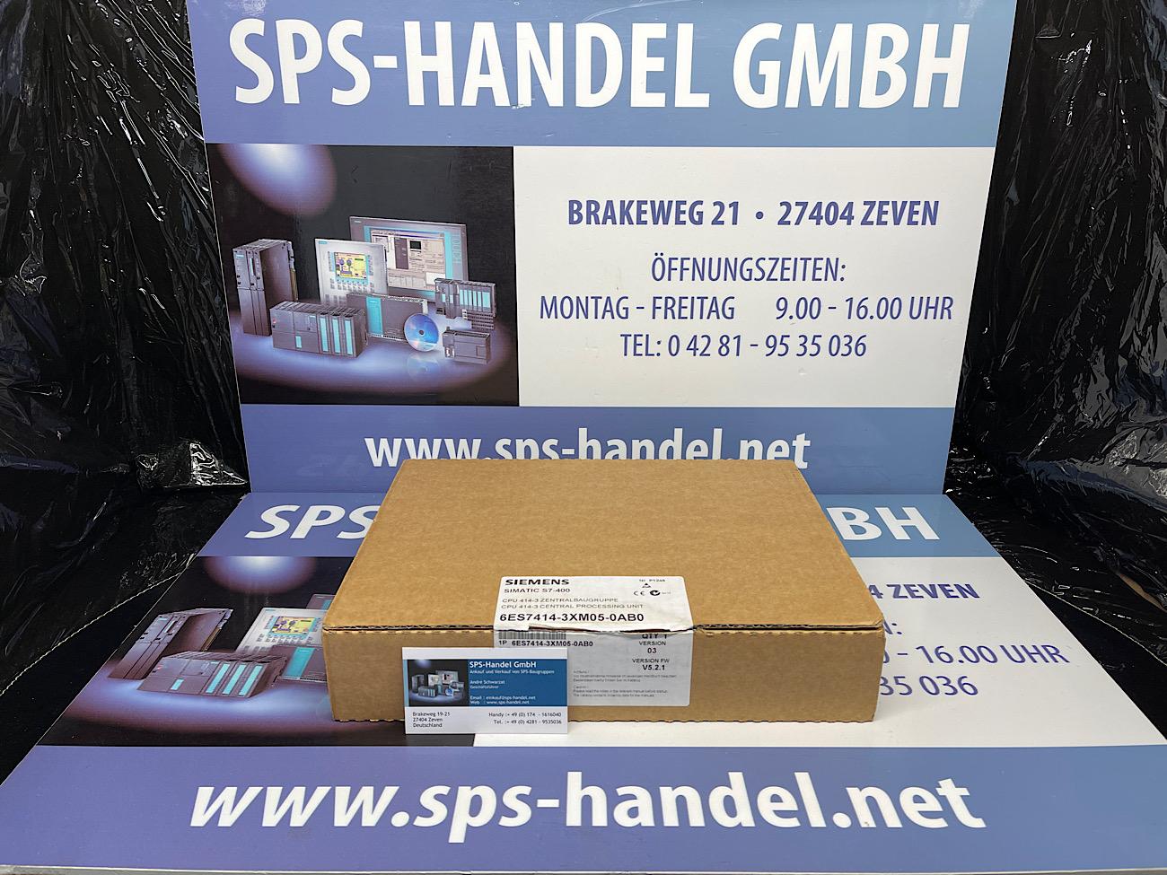 6ES7414-3XM05-0AB0 | CPU 414-3 | NEU Siegel offen