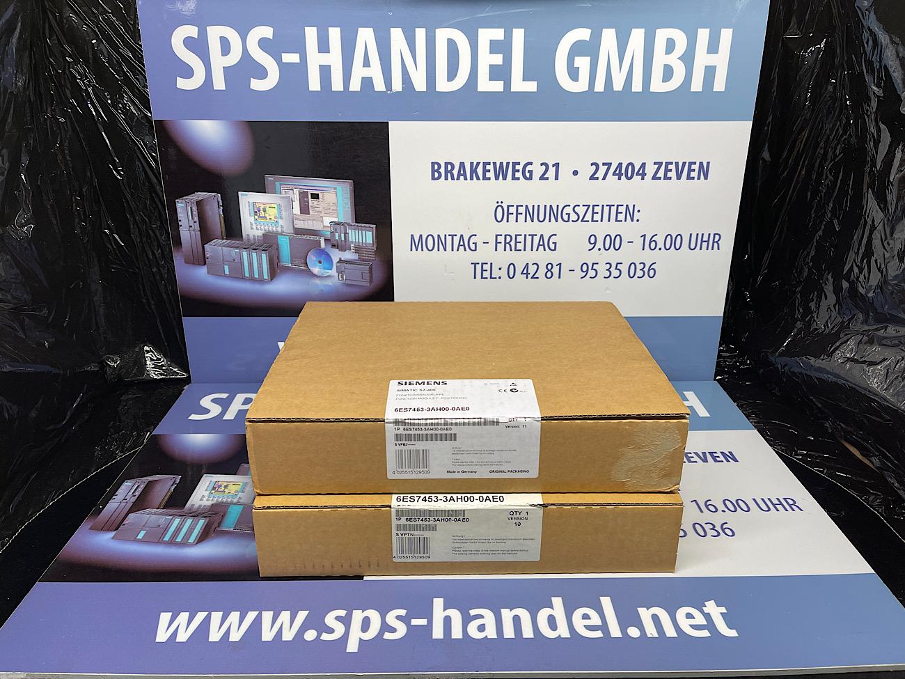 6ES7453-3AH00-0AE0 | FM453 | NEU Siegel 30%