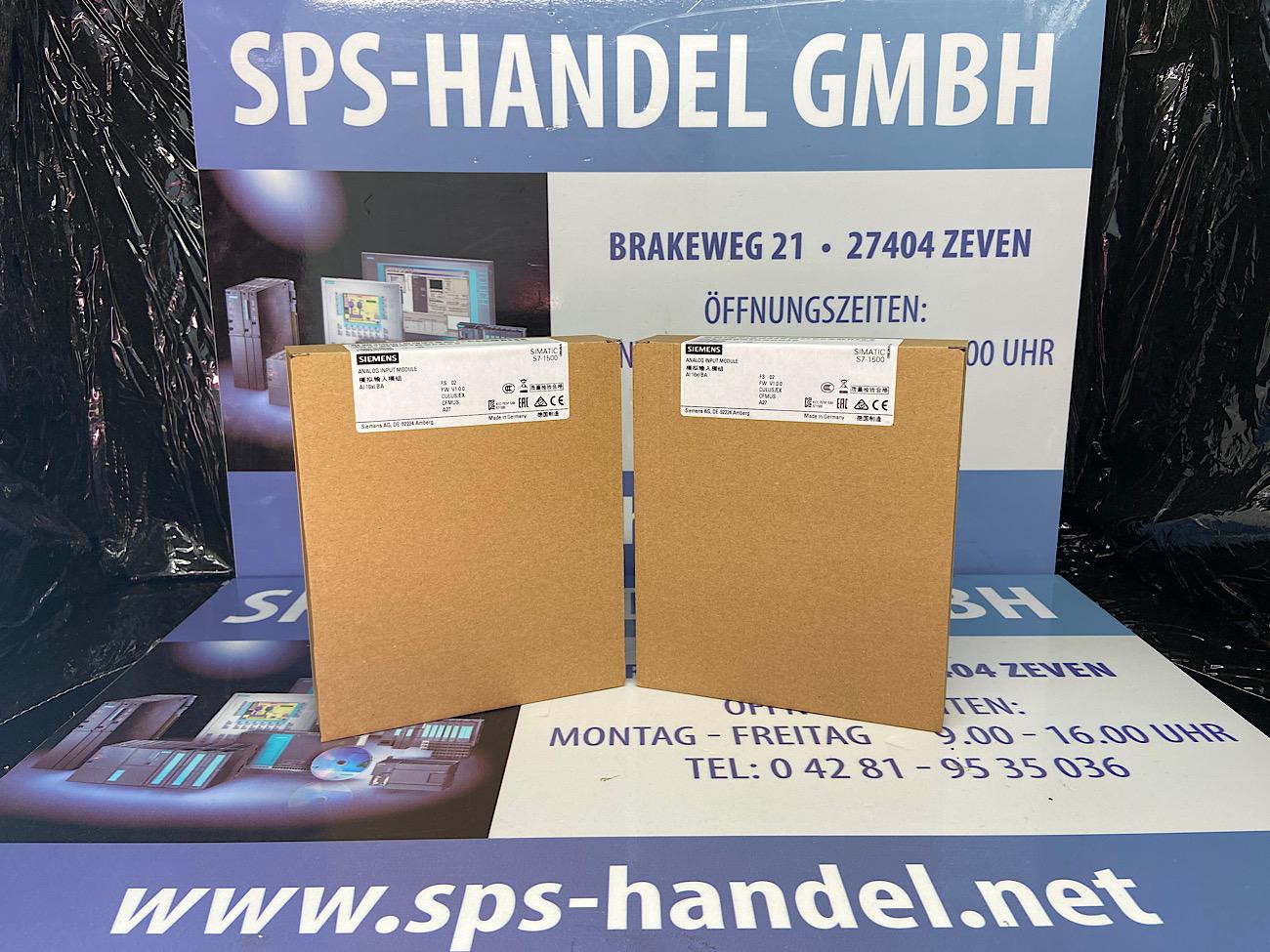 6ES7531-7NF00-0AB0   S7-1500   AI 8xU/I HF   Neu Siegel 26%