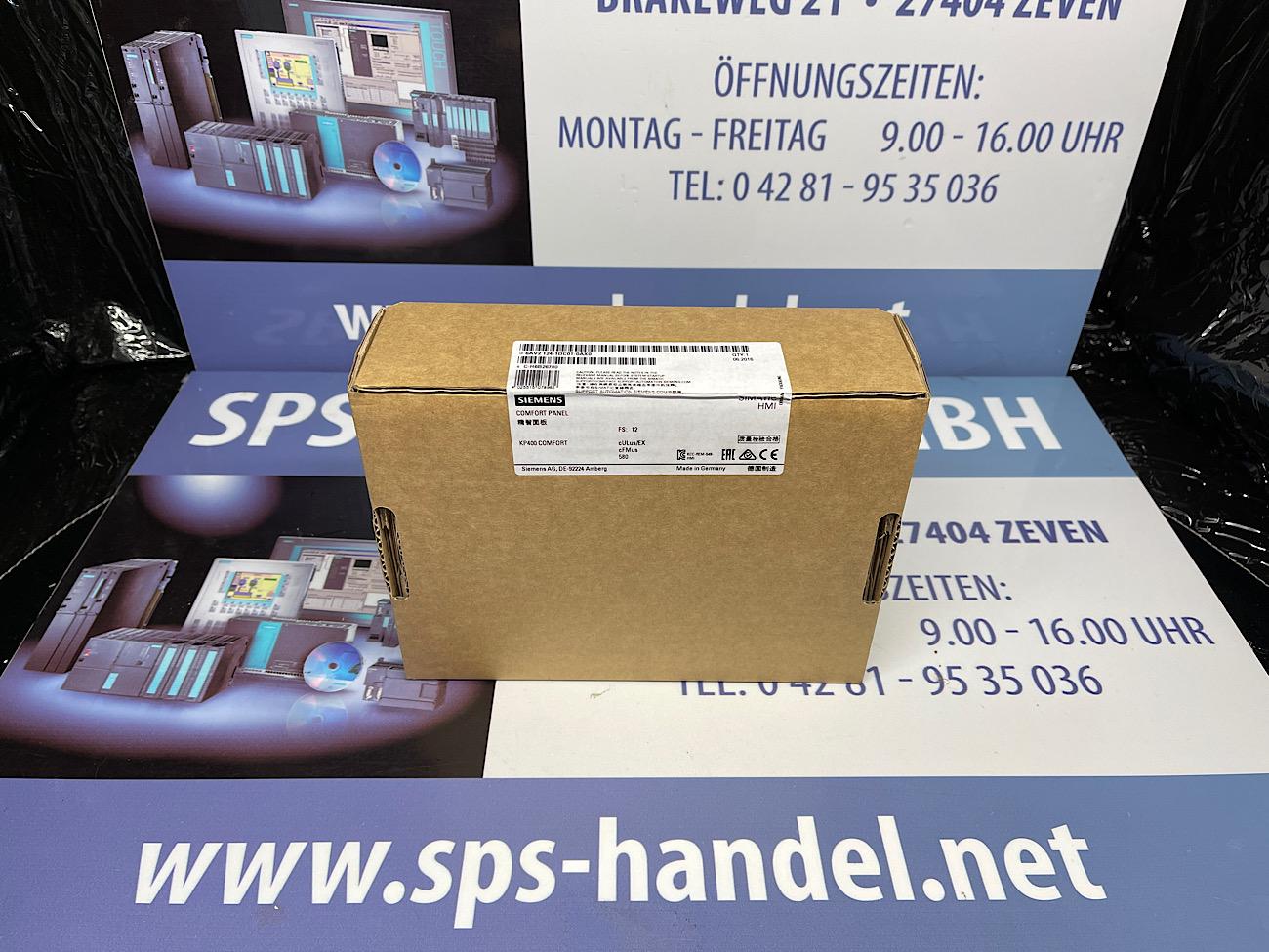 6AV2124-1DC01-0AX0 | KP400 Comfort | Neu Siegel 30%