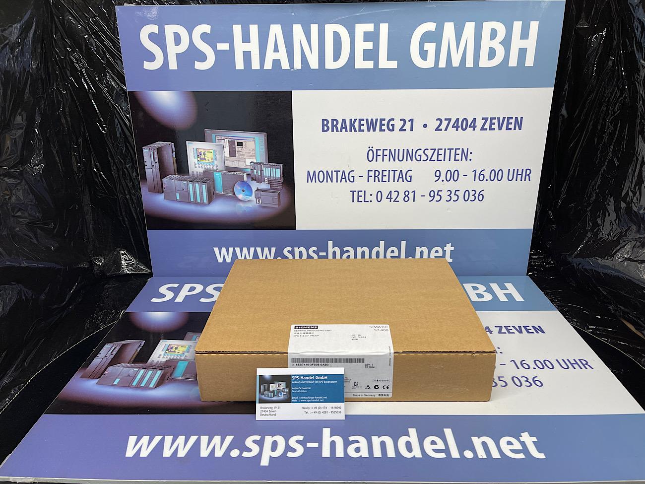 6ES7416-3FS06-0AB0 | CPU416F-3 | NEU Siegel